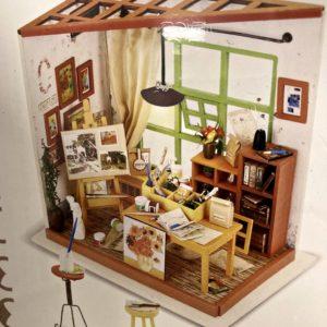 Mini schildersatelier